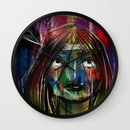 Beyond Tiger Lily Wall Clock
