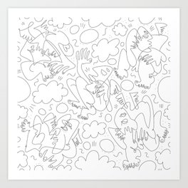 The Bunch Art Print
