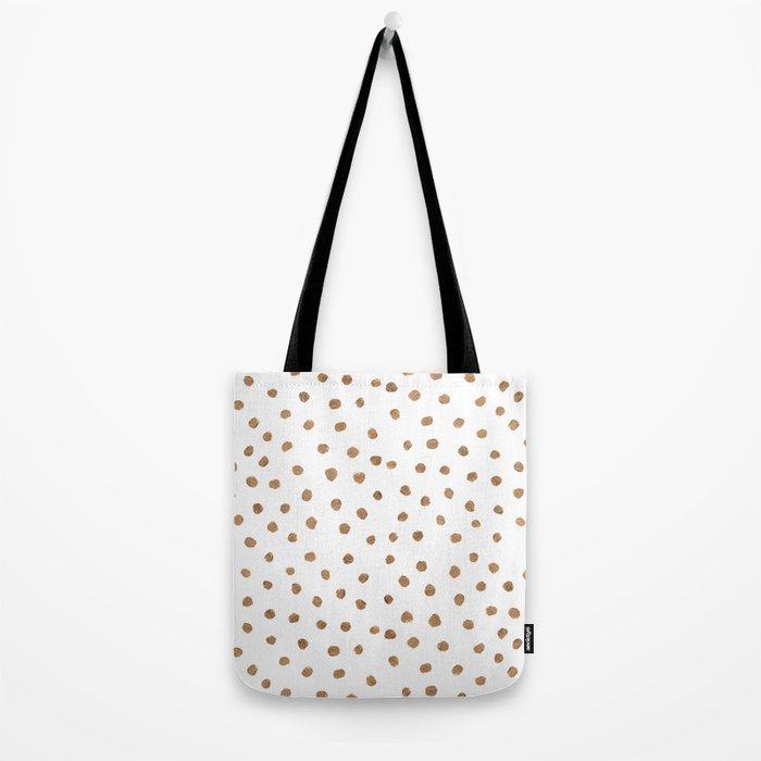 Goldie Dots Tote Bag