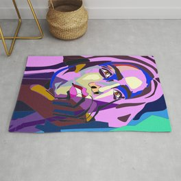 Colorful Compilation Rug