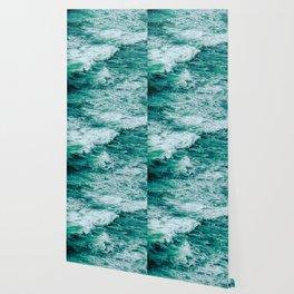 Teal Ocean Sea Waves - Summer Tropical Beach Wallpaper
