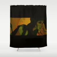 wind Shower Curtains featuring Wind by Third Eye Rye