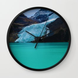 Berg Glacier in Mount Robson Provincial Park BC Wall Clock
