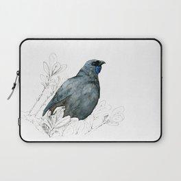Kōkako, New Zealand native bird Laptop Sleeve