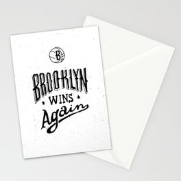 Brooklyn Wins Again (Home)  Stationery Cards