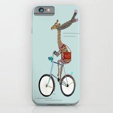 Giraffes School Days  iPhone 6 Slim Case
