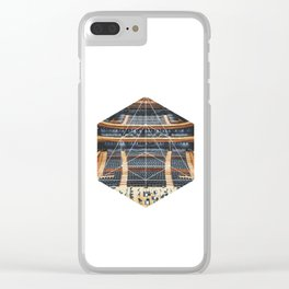 Orchestra - Geometric Photoraphy Clear iPhone Case