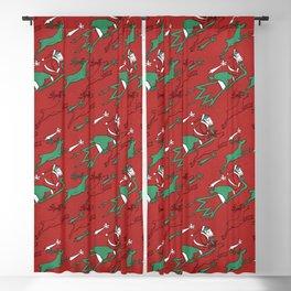 Santa Express Blackout Curtain