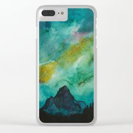 Take Me North Clear iPhone Case