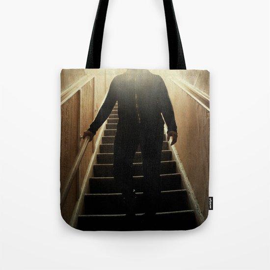 Stairway to the dark side _ vader descending  Tote Bag