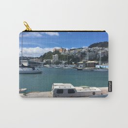 Old Wooden Boat Carry-All Pouch