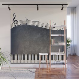 Piano Wall Mural