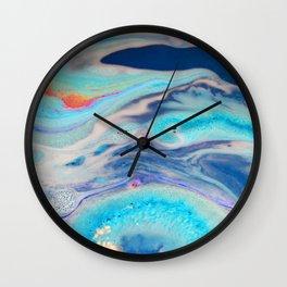 Bath Blooze Wall Clock