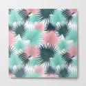 Pastel Palm Leaves by orcevasilev