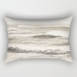 Windswept Waves Rectangular Pillow