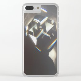 Window Rainbows no.2 the square Clear iPhone Case