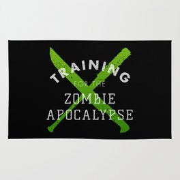 Training: Zombie Apocalypse Rug