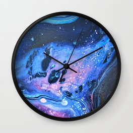 The Space Out There III Wall Clock