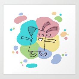 Color Dream Art Print