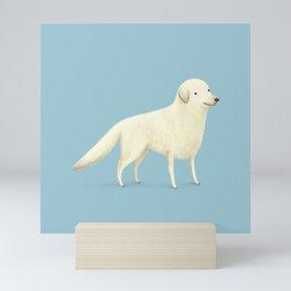 Golden Retriever Portrait Mini Art Print