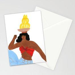 Banana Gal Stationery Cards