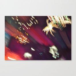 Fireworks Blur I Canvas Print