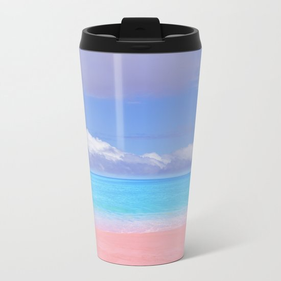 Pastel vibes 59 Metal Travel Mug