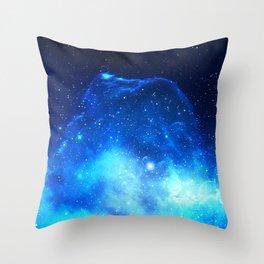 Jelly Nebula Throw Pillow