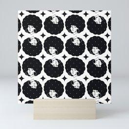 AfroPattern Mini Art Print
