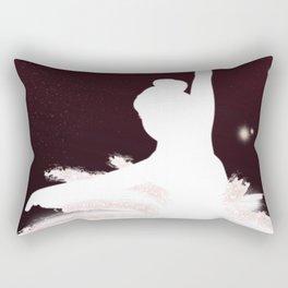 Space Ballerina (1 of 3) Rectangular Pillow