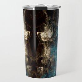 Minotaur Smoke Abstract Travel Mug