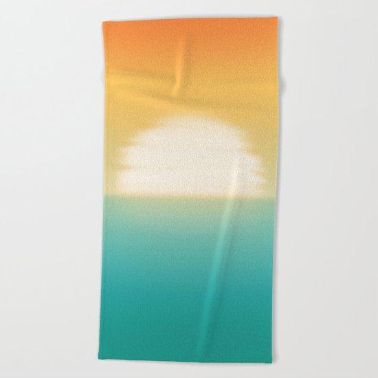 Into the horizon Beach Towel