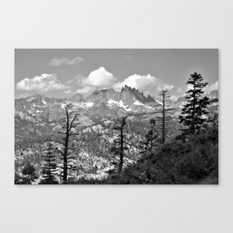 LOST IN YOSEMITE Canvas Print
