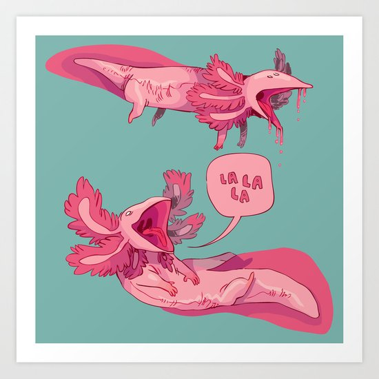 axololtls Art Print