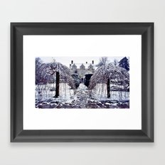 The Cotswolds In Winter Framed Art Print