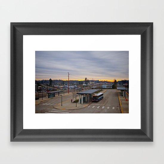 Lakewood landscape Framed Art Print