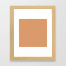 Gold Earth Framed Art Print