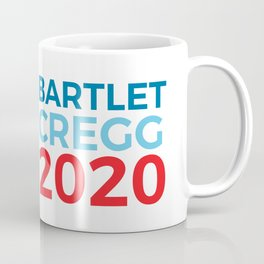 Jed Bartlet CJ Cregg 2020 / The West Wing Coffee Mug