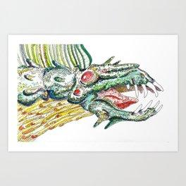 Nausicaä Buggy Art Print