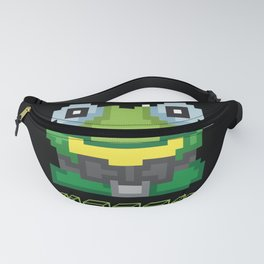 Happy Frog Day Pixel Game Gift Fanny Pack
