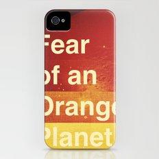 Fear of an Orange Planet Slim Case iPhone (4, 4s)