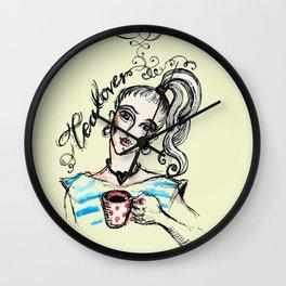 Tealover. Wall Clock