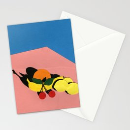 Fruits On The Table Stationery Cards