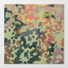 Camouflage XXXXV Canvas Print