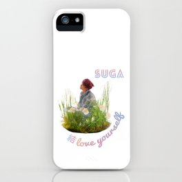 BTS Love Yourself Answer Design - Suga iPhone Case