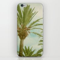 palm trees iPhone & iPod Skins featuring Palm Trees by Cassia Beck