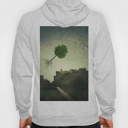 Greening of the foggy town Hoody