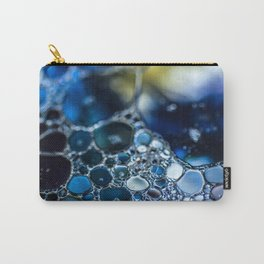 Bubbling Blue Carry-All Pouch