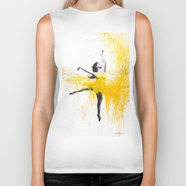 Sunflower Dance Biker Tank