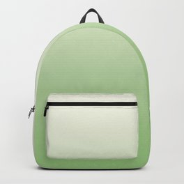 Ombre Paradise Green Pale Creme Backpack